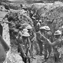 Lancashire_Fusiliers_trench_Beaumont_Hamel_1916
